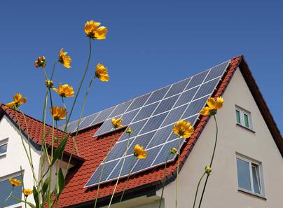 placa solar tejado